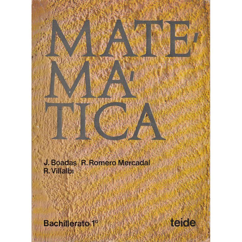 MATEMÁTICA Bachillerato 1º / BUP