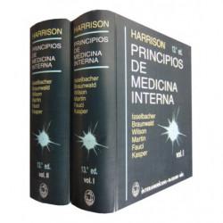 HARRISON PRINCIPIOS DE MEDICINA INTERNA 2 Tomos OBRA COMPLETA