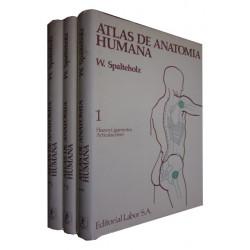 ATLAS DE ANATOMÍA HUMANA 3 Tomos OBRA COMPLETA