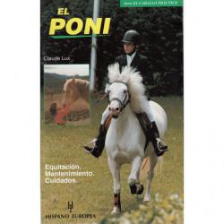 EL PONI. Equitación - Mantenimiento - Cuidados