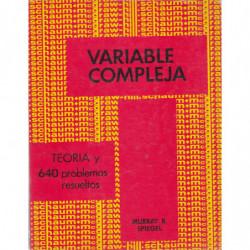 VARIABLE COMPLEJA Serie de Compendios Schaum TEORÍA Y 640 PROBLEMAS RESUELTOS