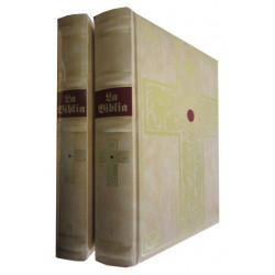 BIBLIA DE JERUSALÉN Ilustrada por Gustavo Doré en 2 Tomos OBRA COMPLETA