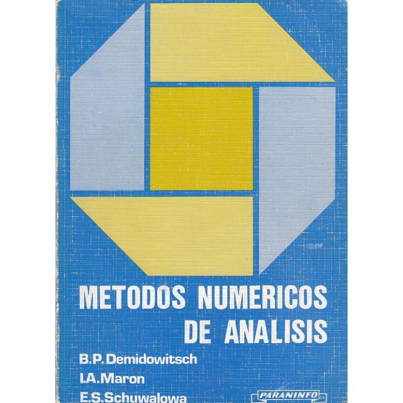 MÉTODOS NUMÉRICOS DE ANÁLISIS