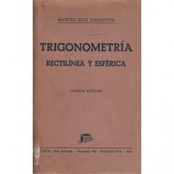 TRIGONOMETRIA RECTILÍNEA Y ESFÉRICA
