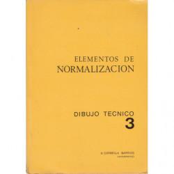 ELEMENTOS DE NORMALIZACIÓN - Dibujo Técnico 3