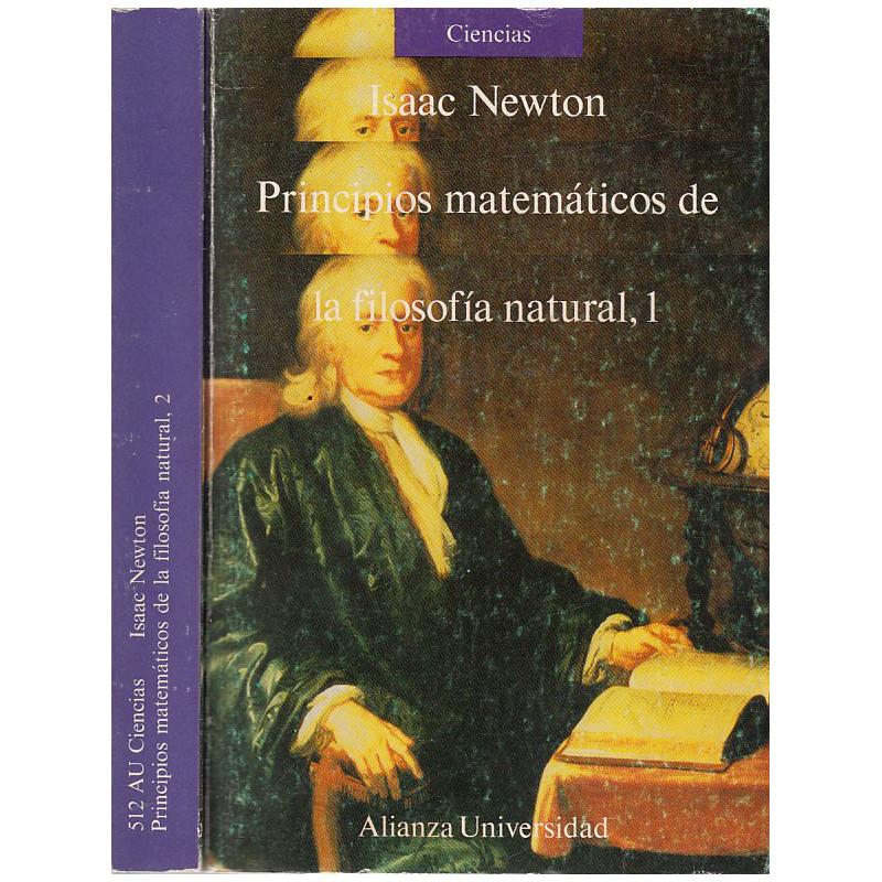 PRINCIPIOS MATEMÁTICOS DE LA FILOSOFÍA NATURAL 2 Tomos OBRA COMPLETA