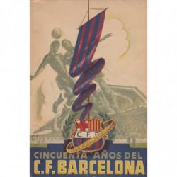 CINCUENTE AÑOS DEL C. DE F. BARCELONA 1899-1949