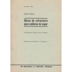 OBRAS DE REFRACTARIO PARA CALDERAS DE VAPOR