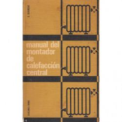 MANUAL DEL MONTADOR DE CALEFACCIÓN CENTRAL