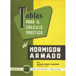 TABLAS PARA EL CÁLCULO PRÁCTICO DEL HORMIGÓN ARMADO