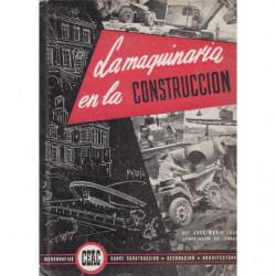 LA MAQUINARIA EN LA CONSTRUCCIÓN