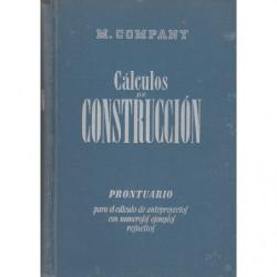 CÁLCULOS DE CONSTRUCCIÓN