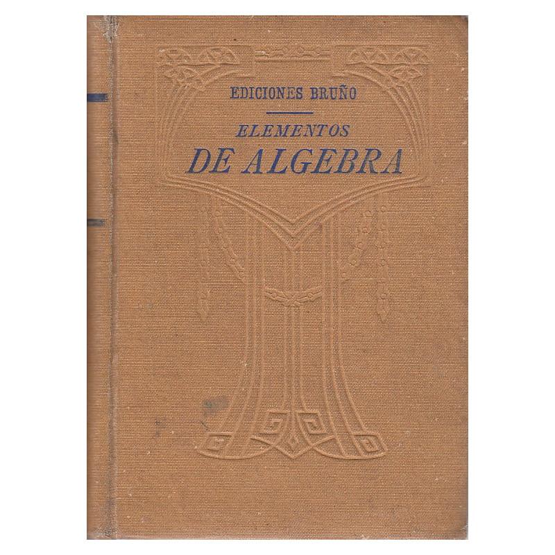ELEMENTOS DE ALGEBRA
