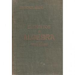 ELEMENTOS DE ALGEBRA - SOLUCIONARIO