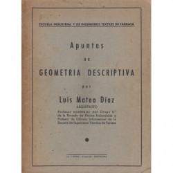 APUNTES DE GEOMETRÍA DESCRIPTIVA