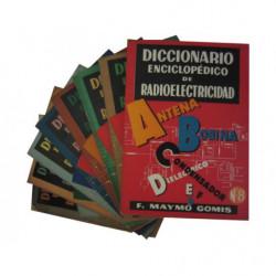 DICCIONARIO ENCICLOPEDICO DE RADIOELECTRICIDAD 8 Tomos de la A a la Z OBRA COMPLETA