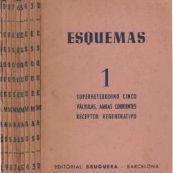 ESQUEMAS 10 Vols COMPETO