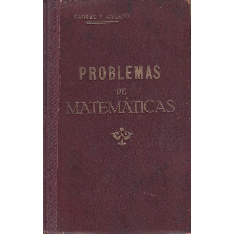 PROBLEMAS DE MÁTEMATICAS