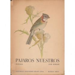 PAJAROS NUESTROS. Poemas
