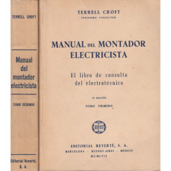 MANUAL DEL MONTADOR ELECTRICISTA 2 Tomos OBRA COMPLETA