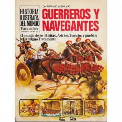HISTORIA DEL MUNO PARA NIÑOS (2) Del 1500 a.C. al 500 a.C. GUERREROS Y NAVEGANTES