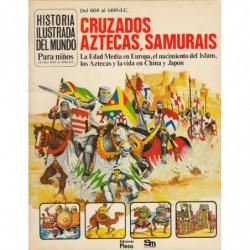 HISTORIA DEL MUNDO PARA NIÑOS (4) Del 600 al 1400 d.C. CRUZADOS, AZTECAS, SAMURAIS