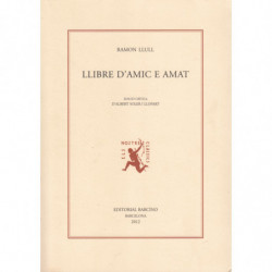 LLIBRE D'AMIC E AMAT. Edició Crítica d'Albert Soler i Llopart