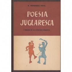POESIA JUGLARESCA Y ORÍGENES DE LAS LITERATURAS ROMANICAS