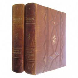OBRAS COMPLETAS de SIGMUND FREUD Tomos I y II (1983-1928)