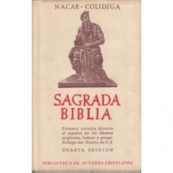 SAGRADA BIBLIA. Versión directa de las lenguas originales