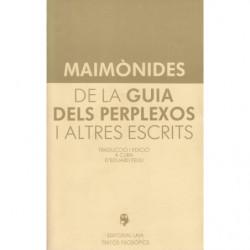 DE LA GUIA DELS PERPLEXOS I ALTRES ESCRITS