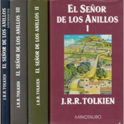 EL SEÑOR DE LOS ANILLOS Tomos I,II,III y Apéndices (OBRA COMPLETA)