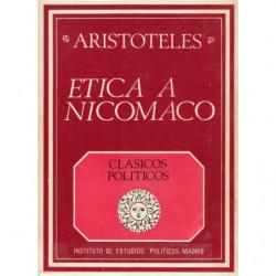 ETICA A NICOMACO. Edición bilingüe. Traducción Maria Araujo y Julián Marías