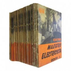 CURSO MAEATRO ELECTRICISTA 36 Vols. + Guia del Alumno e Índice del Curso OBRA COMPLETA