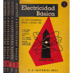 ELECTRICIDAD BÁSICA  Vols. del 1 al 5.