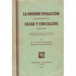 LA ENORME EVOLUCIÓN EN LA FABRICACIÓN DE CACAO Y CHOCOLATES DESDE 1955
