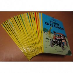 LAS AVENTURAS DE TINTIN colección Completa 23 TOMOS