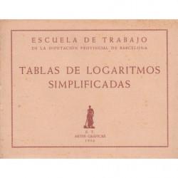 TABLAS DE LOGARITMOS SIMPLIFICADAS