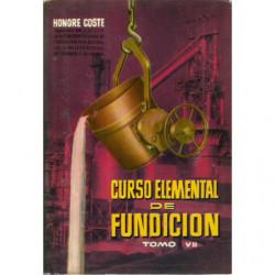 CURSO ELEMENTAL DE FUNDICION Tomo VII