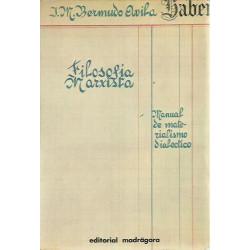 FILOSOFÍA MARXISTA Manual de materialismo dialéctico
