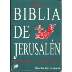 NUEVA BIBLIA DE JERUSALÉN Revisada y Aumentada. ANTIGUO Y NUEVO TESTAMENTO