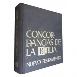 CONCORDANCIAS DE LA BIBLIA Nuevo Testamento