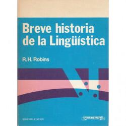 BREVE HISTORIA DE LA LINGÜÍSTICA