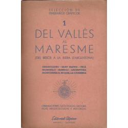 1 DEL VALLES AL MARESME (Del Besós a la Riera d'Argentona)