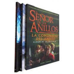 EL SEÑOR DE LOS ANILLOS Los Álbumes de las Peliculas. LA COMUNIDAD DEL ANILLO / LAL DOS TORRES / EL RETORNO DEL REY los 3 Tomos