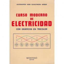 CURSO MODERNO DE ELECTRICIDAD con Gráficos en Tricolor