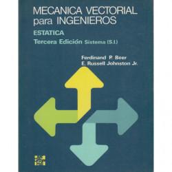 MECANICA VECTORIAL PARA INGENIEROS Estática. Sistema (S.I.)