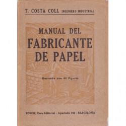 MANUAL DEL FABRICANTE DE PAPEL