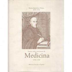 TEXTOS SOBRE CUESTIONES DE MEDICINA 1726-1760