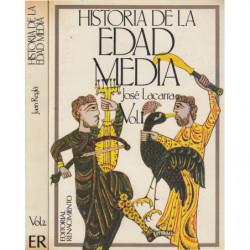 HISTORIA DE LA EDAD MEDIA 2 Tomos OBRA COMPLETA